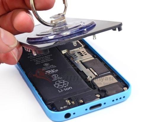 iphone-5c-batarya değişimi