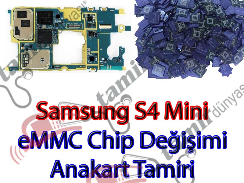 i9190-samsung-galaxy-s4mini-anakart-emmc-chip-degisimi