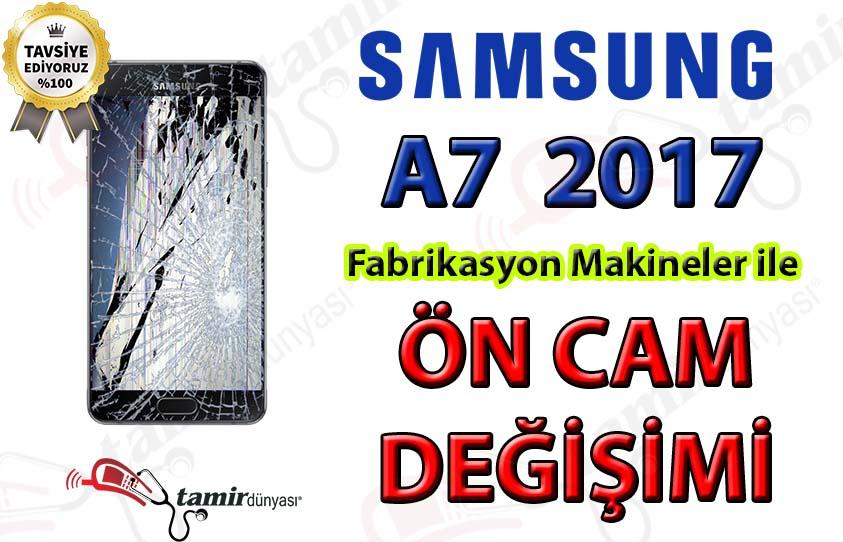 Samsung Galaxy A7 2017 ön cam değişimi